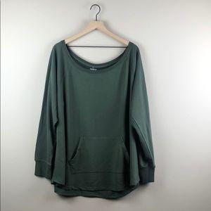 NWT Torrid Active Green Top (Torrid Size 4)